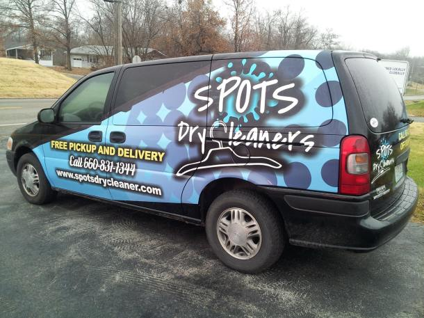 spots dry cleaning wrap